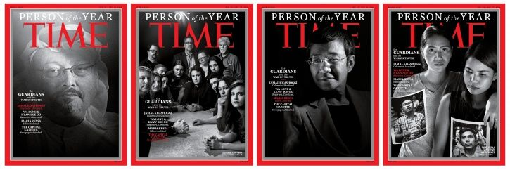 Time Magazine's 'Person Of The Year' Are Journalists Who Take Great 'Risks In Pursuit Of Truth'