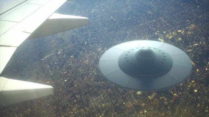 UFO aliens on earth NASA scientist paper