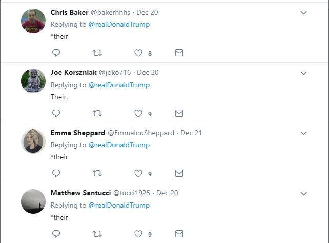 United States, Donald Trump, Syria, misspell, twitter, Afghanistan, English, grammar
