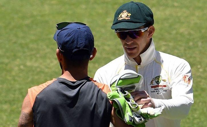 Virat Kohli and Tim Paine have been at each other