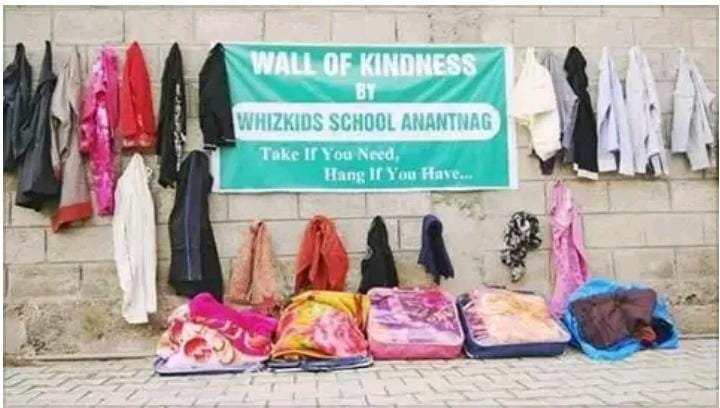 Wall of kindness, Jammu and Kashmir, Who is Hussain, joy of giving, Delhi, Chandigarh