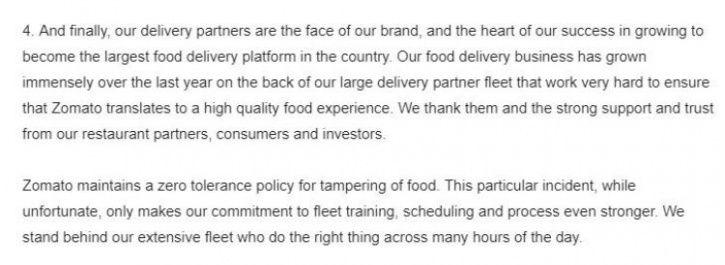 ZOmato, Zomato delivery guy, delivery guy eats out of orders, delivery guy eats food, delivery guy