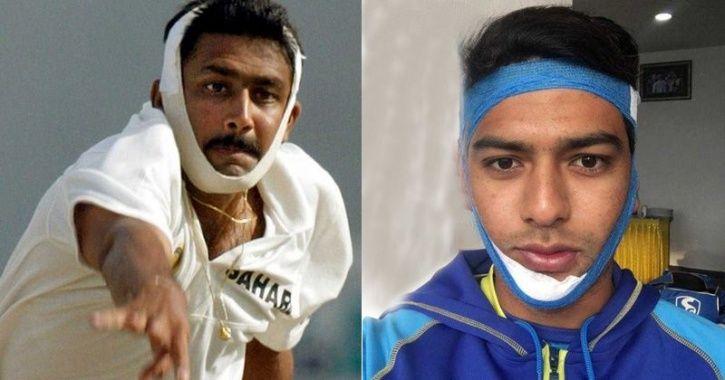 Anil Kumble and Unmukt Chand