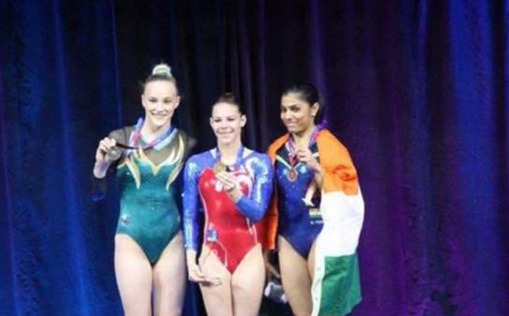 Aruna Reddy Creates History To Win Bronze At Gymnastics World Cup