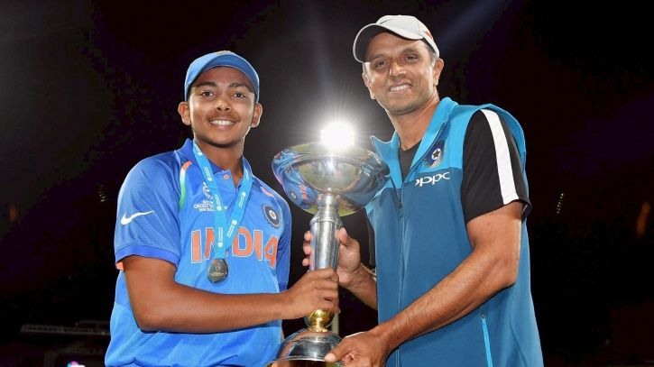 BCCI Awards Rs 50 Lakhs To Rahul Dravid After Under-19 World Cup Win