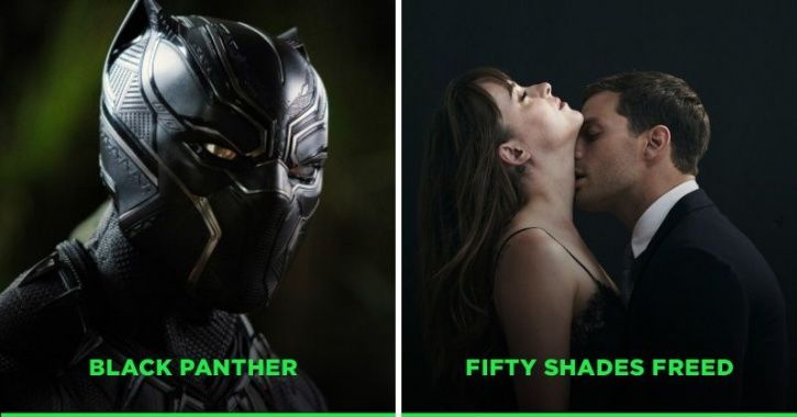 Black Panther/Fifty Shades Freed