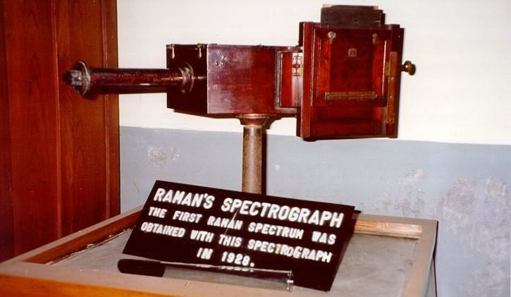 CV Raman Spectrograph