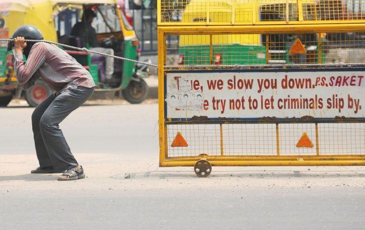 Delhi Biker Killed After Police Barricade Wire Slits His Throat