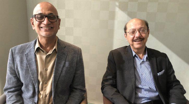Dr P Anandan and Mr Sunil Wadhwani