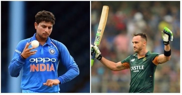 India restricted South Africa to 269/8