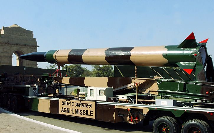 India Successfully Test Fires Nuclear Capable Agni 1