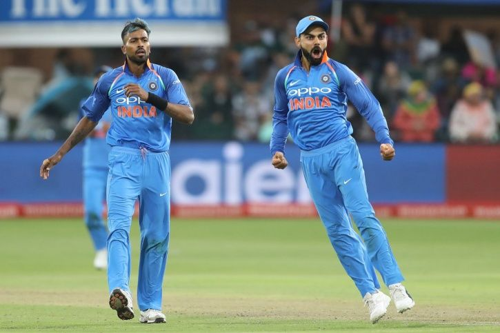 India win the series 5-1