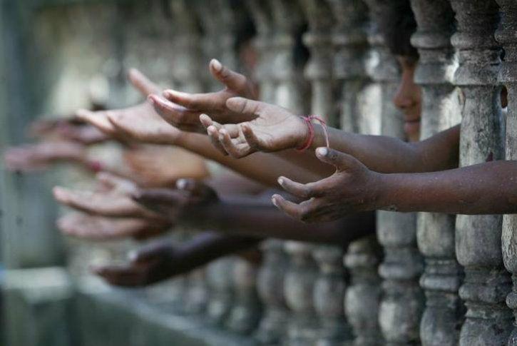 Indian poor kids