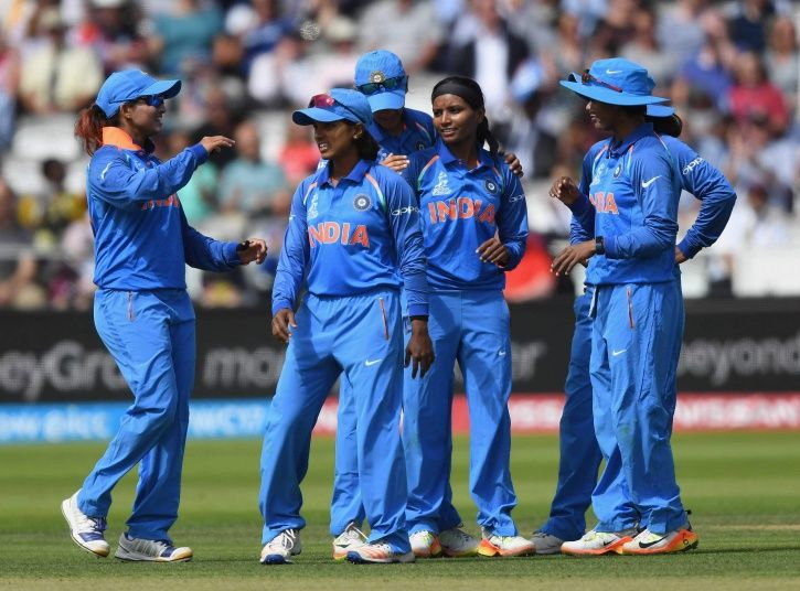 Indian women won the last T20I by 54 runs
