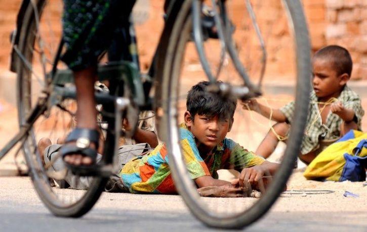 jharkhand man cycling