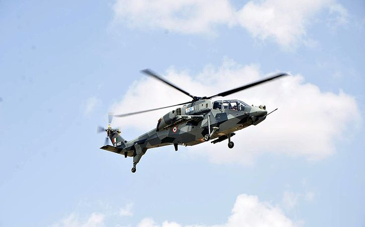Light Combat Helicopter Makes Maiden Flight With Indigenous Control System In India
