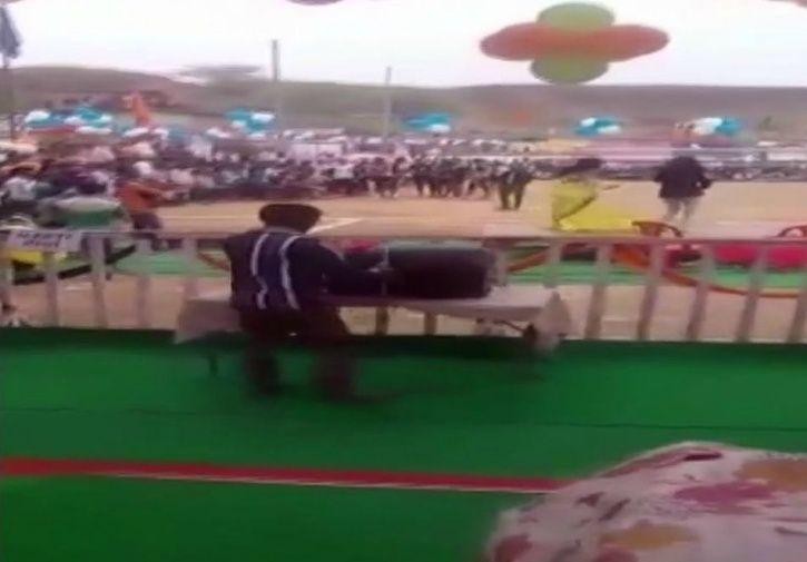 Madhya Pradesh Minister Watch Sleazy Dance In School