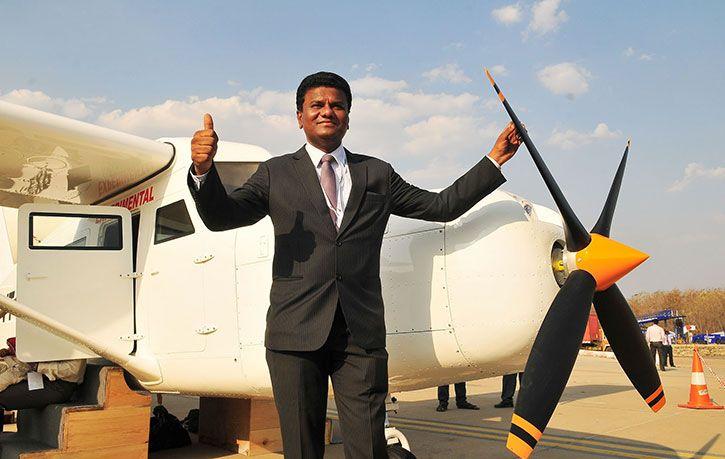 Maharashtra Signs Deal With Rooftop Aircraft Maker Amol Yadav