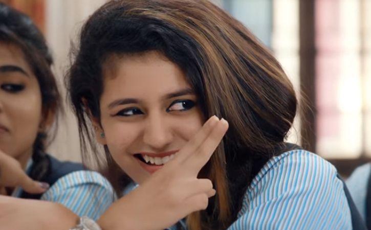 Malayalam actress Priya Prakash Varrier became an internet sensation
