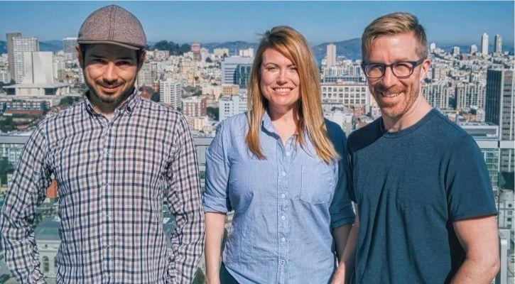 Molly founders Chris Messina, Esther Crawford and Ethan Sutin