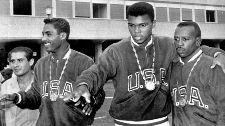Muhammad Ali won the gold medal in the 1960 Rome Olympics
