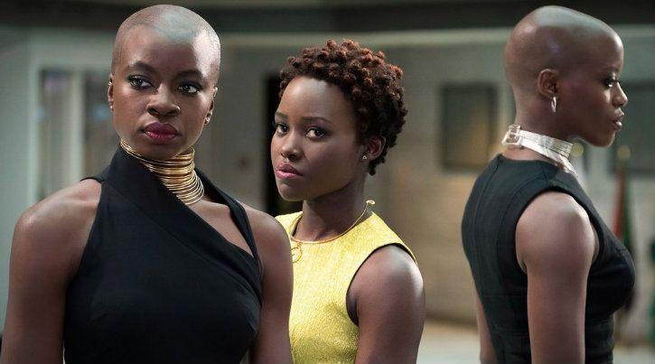 Nakia and Okoye