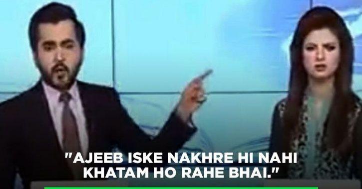 news anchors arguing