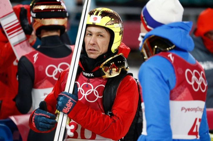 Noriaki Kasai is in his 8th Winter Games