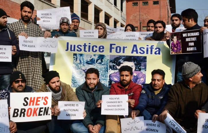 Police Officer Who Was Part Of Search Party Arrested For Rape And Murder Of 8YO Girl In Kashmir