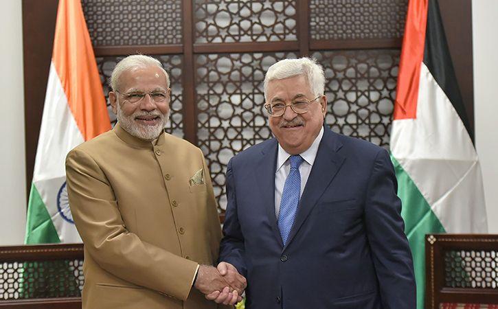 Prime Minister Narendra Modi In Palestine