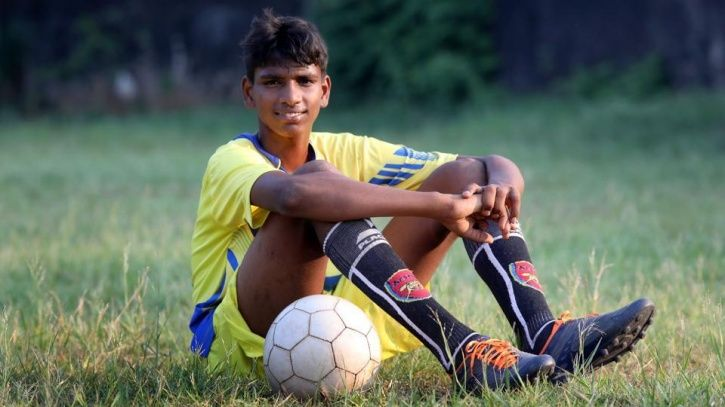 R Manikandan was rescued at the age of seven
