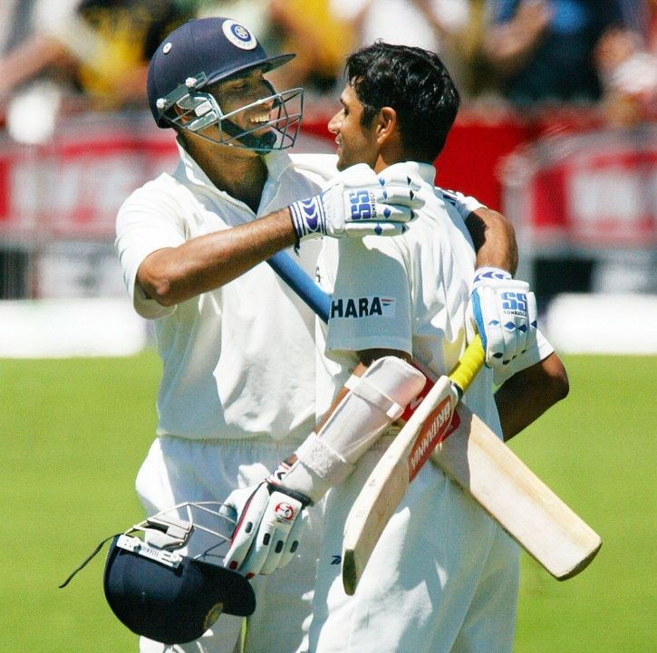 Rahul Dravid and VVS Laxman added 303 runs for the 5th wicket