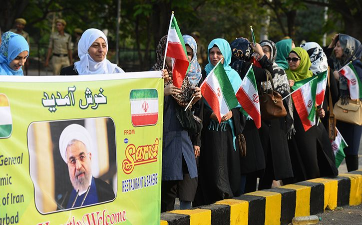 Rouhani Lauds India Diversity Peaceful Co Existence Of Religions