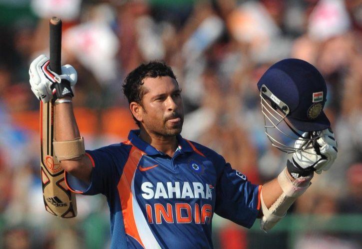 Sachin Tendulkar made 200 not out
