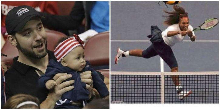 Serena Williams had taken a break due to her pregnancy