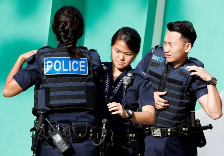 singapore army