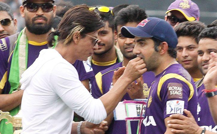 SRK Admitting He Will Miss Gautam Gambhir In IPL 11