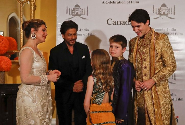 SRK and Trudeau