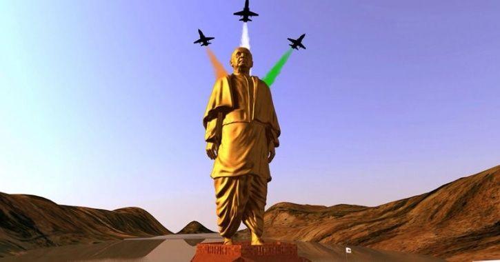 statue of unity inauguration