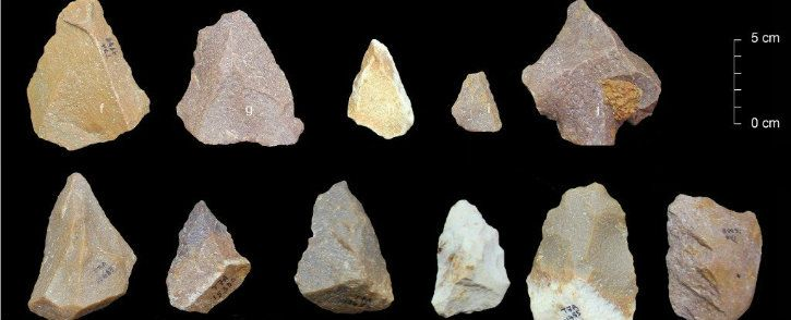 stone tools in ancient india