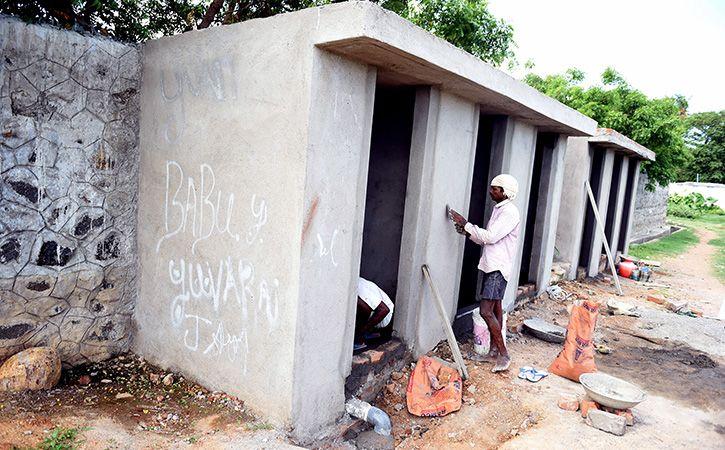 Tamil Nadu Builds 4,000 Toilets in a Day Under Swachh Scheme
