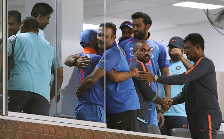 Team India Not Satisfied With Drawing First Blood