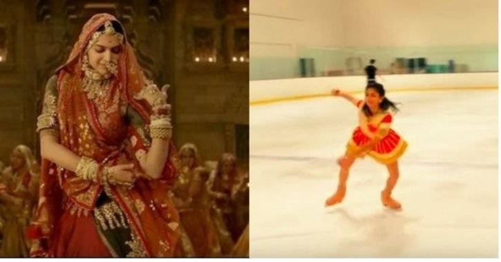 The Ghoomar song is extremely popular