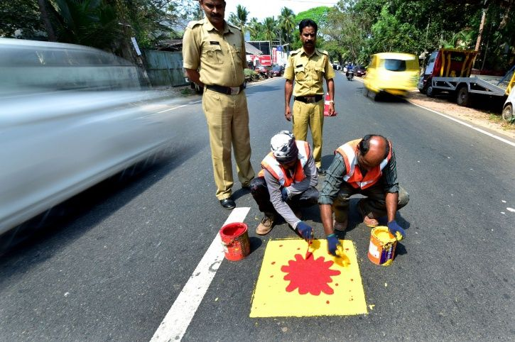 This Kerala Town Has An Innovative Way To Remind Drivers About Being Careless On The Roads