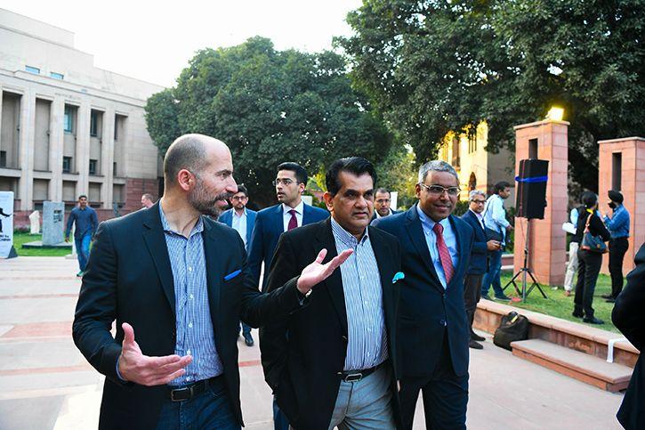 Uber and Niti Aayog CEOs