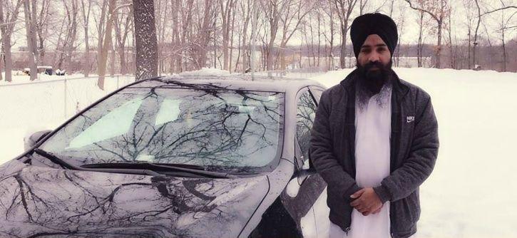 Uber Passenger Holds Sikh American