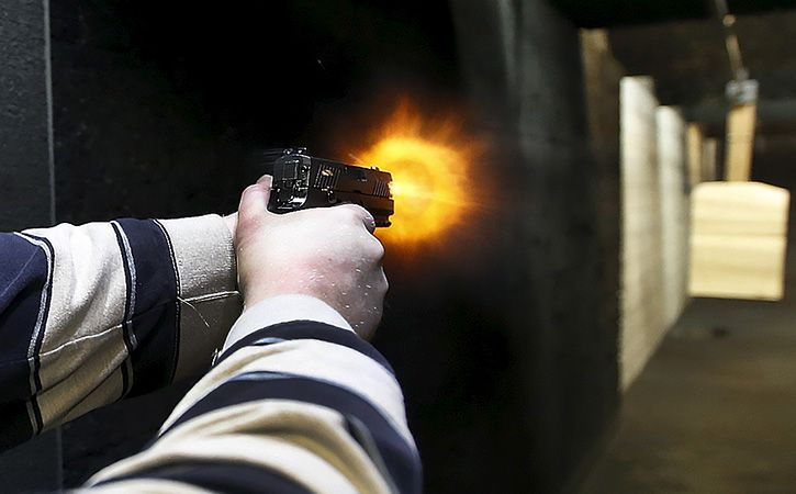 UP Man Enters Class With 16 Bullets Kills Girl Self