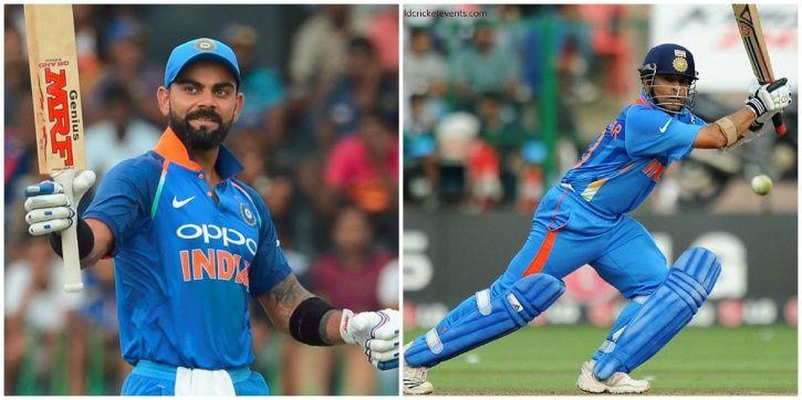 Virat Kohli has 34 ODI hundreds