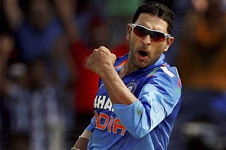 Yuvraj Singh was part of the team which won the 2011 World Cup