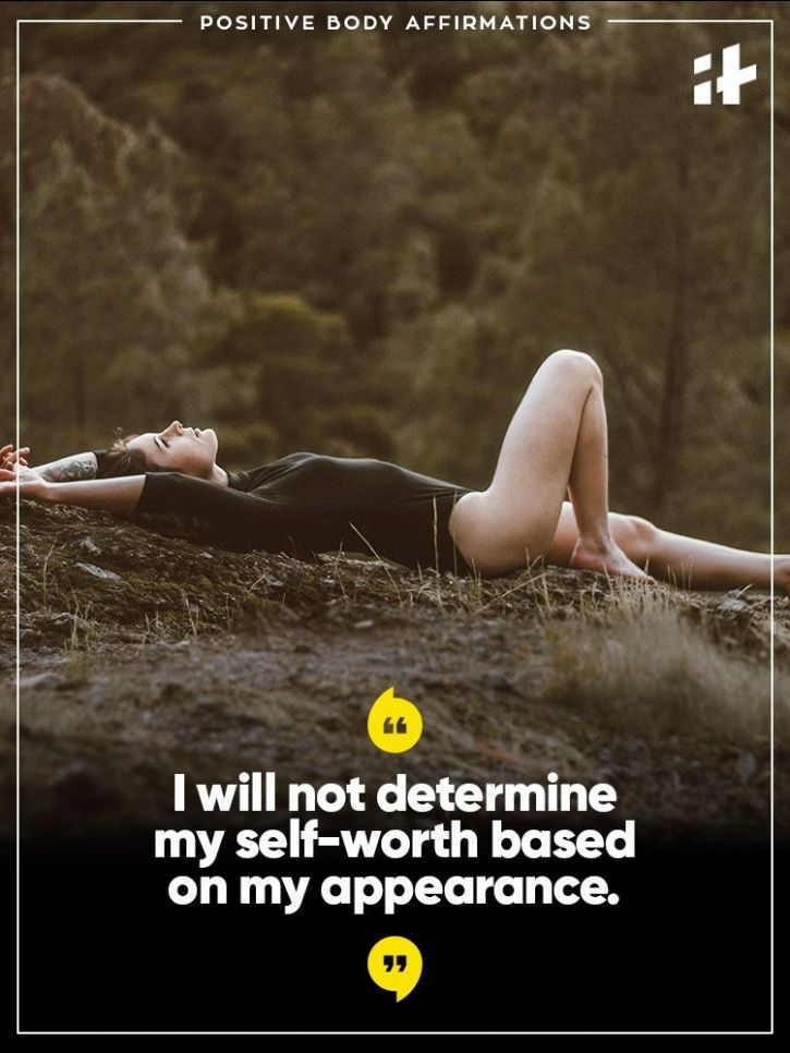 19 Positive Body-Affirmations That Will Help You Feel Great In 2018